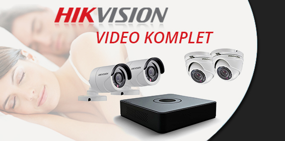 Video nadzor Turbo HD 720p komplet - HIKVISION
