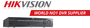 HIKVISION world NO1 DVR supplier